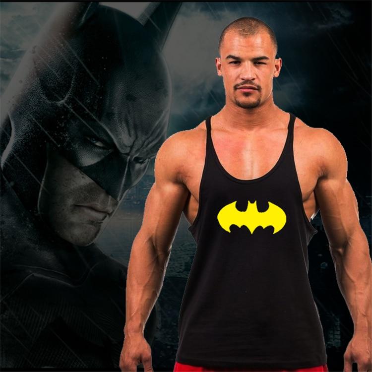 Golds Batman gyms clothing bodybuilding stringer   tank     tops   men fitness singlets men workout   tank     tops   sleeveless shirt