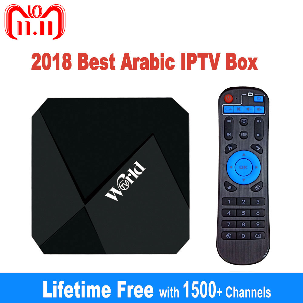 IPTV Box Free Lifetime IPTV Subscription No Monthly Fee 1400+ Channels 2G 16G Smart Android 7.1 TV Box Arabic IPTV Free Forever x96 tv box free forever smart tv iptv arabic lifetime free 2000 arabic africa america chs good for australia sweden live