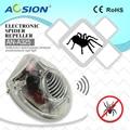 Aosion электромагнитный Ультразвуковой Отпугиватель вредителей для дома  ночник  светильник  отпугиватель тараканов  комаров  ловушка для мыш...
