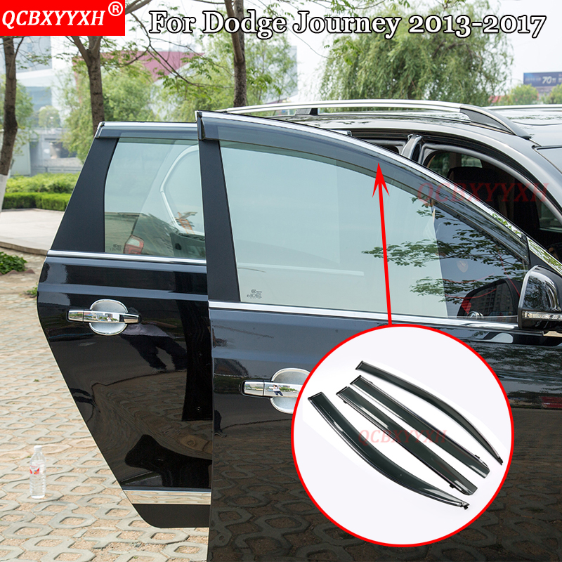 QCBXYYXH Car Styling For Dodge Journey 2013 2017 Awnings