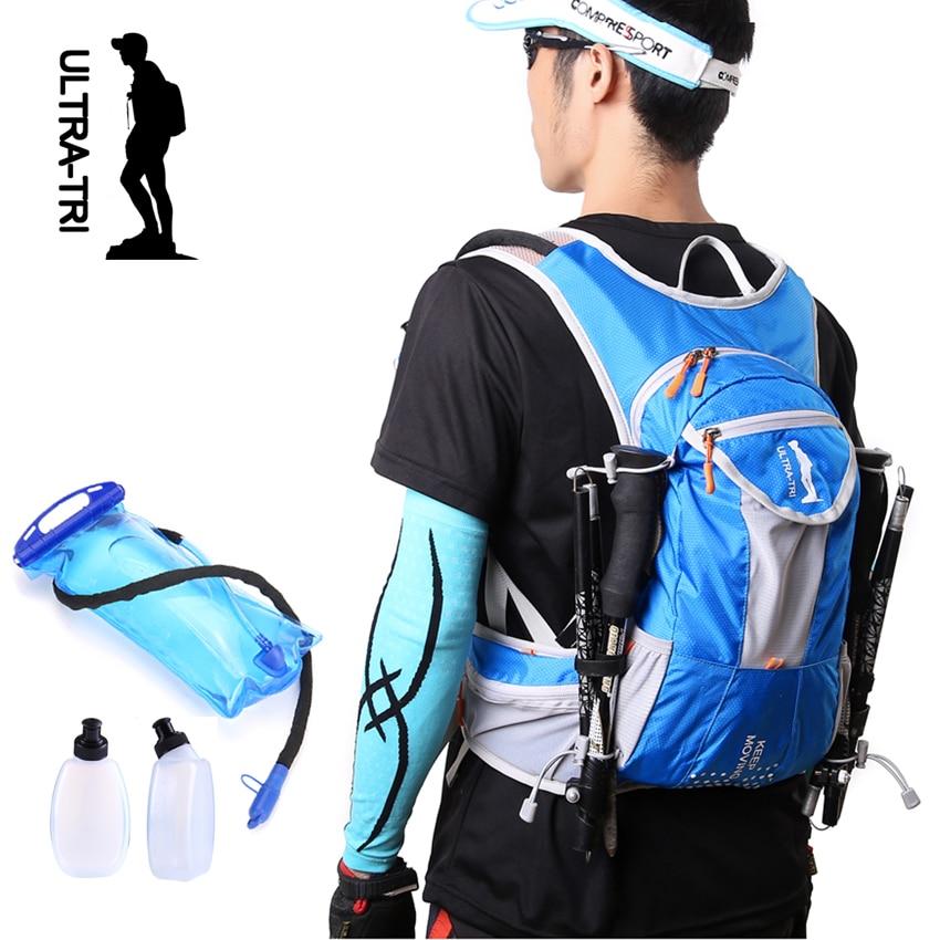 03d25a52f5 ULTRA-TRI Hydration Trail Running Backpack Outdoor Sport Bag Race Training  Professional Lightweight Vest Mochila 12L