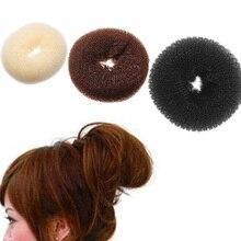Популярный простой элегантный женский Корректировщик фигуры пончик волос кольцо булочка модные аксессуары для волос дропшиппинг