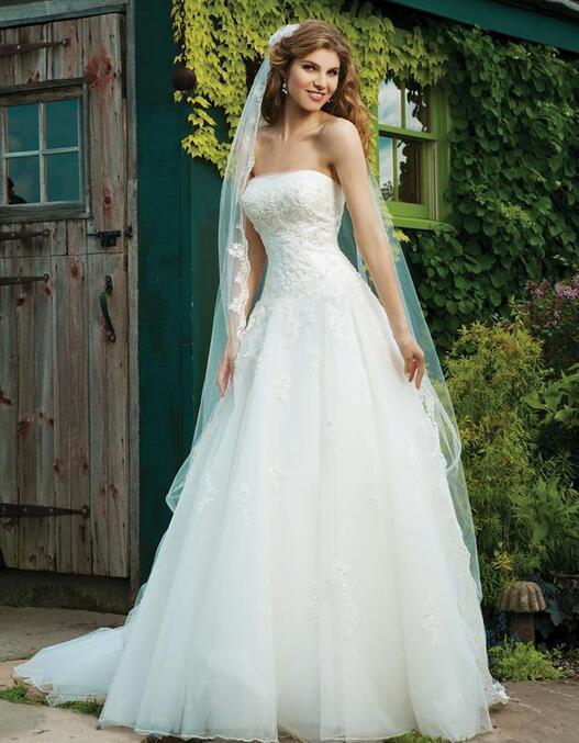 джулия энн в белом корсете невесты