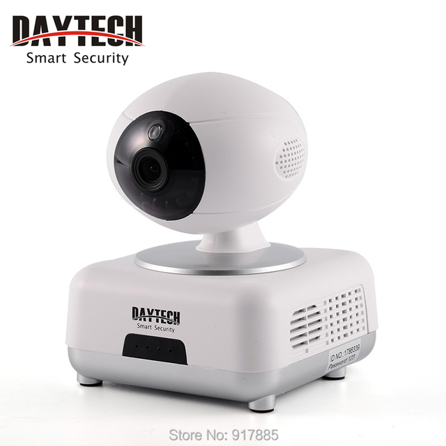 Daytech IP WiFi Cámara Cámara 720 P Wi-Fi Wireless Home Seguridad Baby Monitor de Dos Vías Noche Audio Vision Infrarrojos DT-C8816