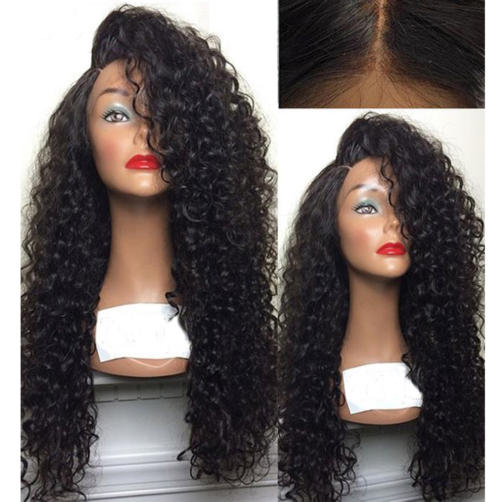 Eversilky Curly Human Hair Wigs Pre Plucked 360 Lace Frontal Wig With Baby Hair Brazilian Virgin Hair 10-26 Inches