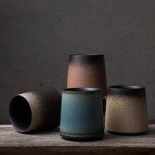Японский стиль оригинальный творческий керамические кружки Личность Простой Ретро-чашка градиент кружка для воды кофейная чашка Главная офисная кружка