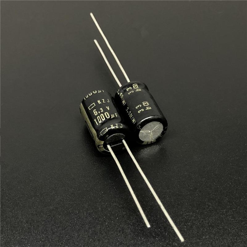 100pcs 1000uF 6.3V NCC KZJ Series 8x11.5mm 6.3V1000uF Ultra Low ESR Motherboard Capacitor