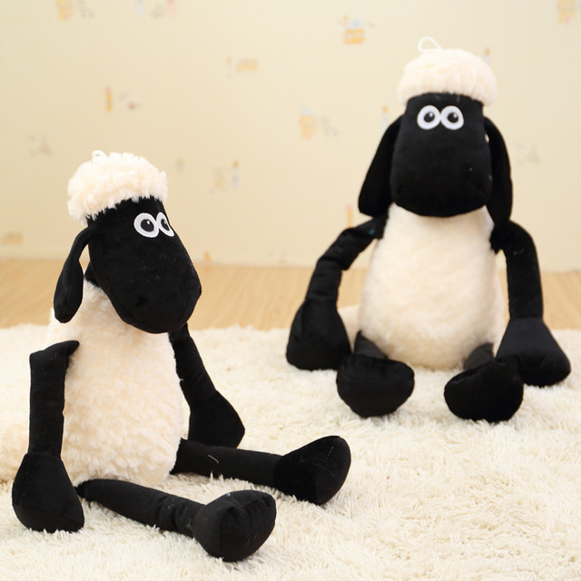 32 100cm White Sheep Plush Toy Doll Cute Black Sheep Lamb Christmas