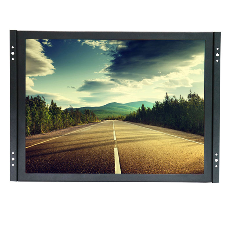 цена 15 inch touch screen monitor 1024*768 capacitive touch screen kit for lcd monitor with AV/BNC/VGA/USB interface
