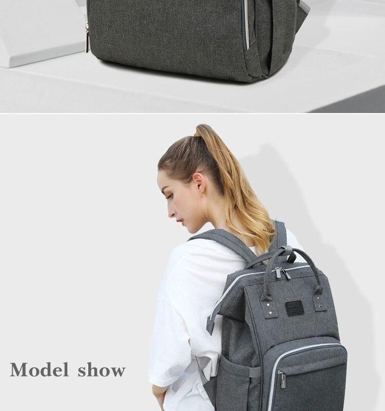 HTB18P79Q9zqK1RjSZFpq6ykSXXaG Fashion Mummy Maternity Diaper Bag Large Nursing Bag Travel Backpack Designer Stroller Baby Bag Baby Care Nappy Backp