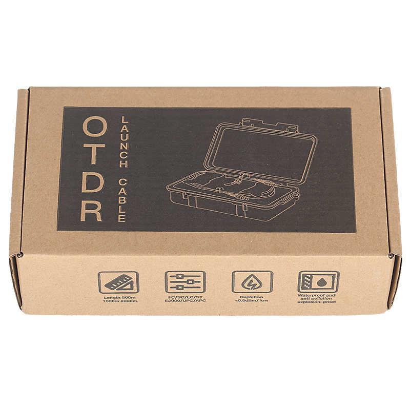 Бесплатная доставка LC/APC-LC/APC OTDR Dead Zone Eliminator, волоконные кольца, волоконно-оптический OTDR launch Cable Box 1 км SM 1310/1550nm