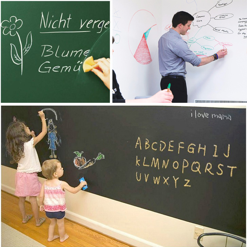 Mural, Wall, Chalkboard, Teaching, DIY, Removable