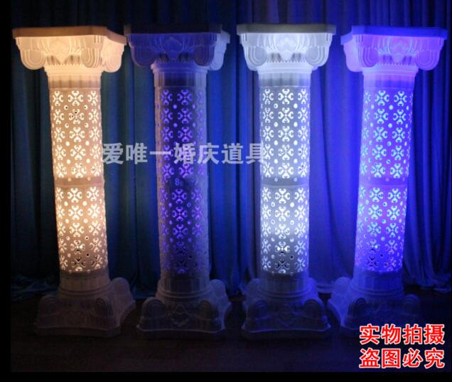 2017 new charging light of the wedding lamp the lighting of the lamp4pcs in Party DIY Decorations from Home Garden
