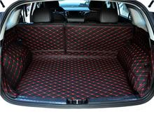 Full Rear Trunk Tray Liner Cargo Mat Floor Protector foot pad mats for 17 KIA Niro 2017 2018 (6colors) FREE BY EMS