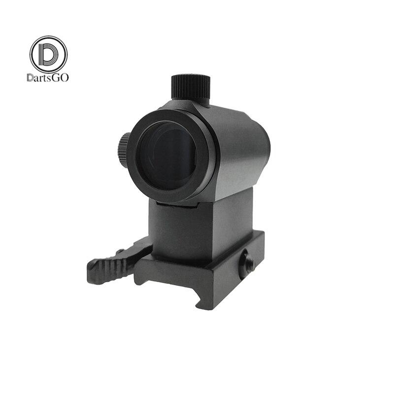 DDartsGO lunette de chasse Airsoft Mini Micro point rouge viseur optique portée réflexe tactique fixation rapide du Rail du Riser