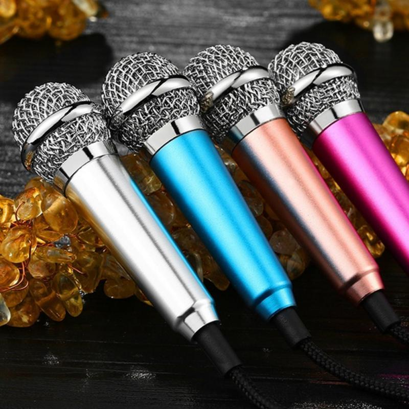 compare prices on small microphone online shopping buy low price aluminium alloy mini 3 5mm handheld karaoke ktv cellphone microphone wired small recorder microphone for cellphone