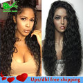 8A Wet Wavy Wigs Lace Front Wig With Baby Hair Full Lace Human Hair Wigs For Black Women Top Brazilian Glueless Full Lace Wigs