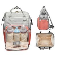 Japanese Oxford Large Capacity Mother Baby Backpacks Lightweight Ring Travel Waterproof BackBag