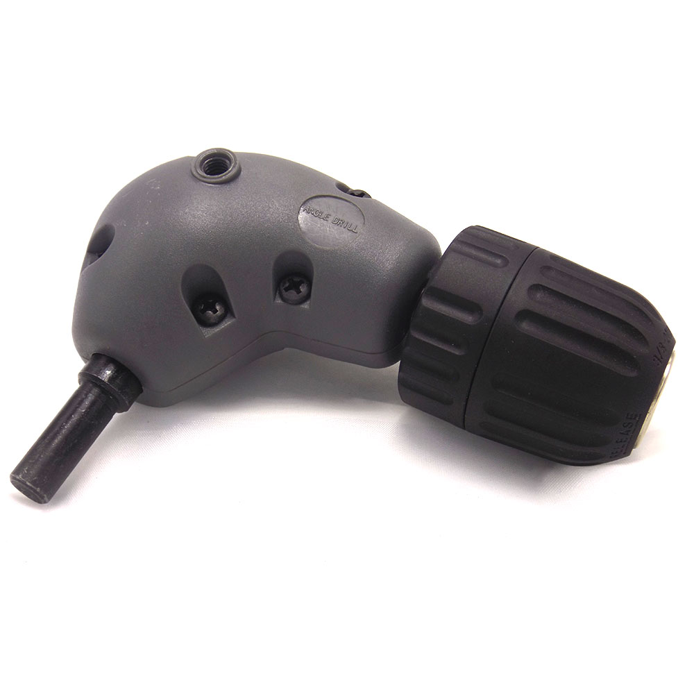 Professional Electronic Drill Right Angle Bend Universal Chuck 90 Degree Angle Drill Extension Accessories Fitting new right angle extension adapter 90 degree electric drill attachment 9 5mm round shank with handle