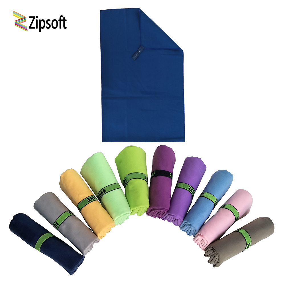Zipsoft Summer Beach Towels With Bandage Microfiber Quick Dry Travel Sport Swim Gym Yoga Bath Adults