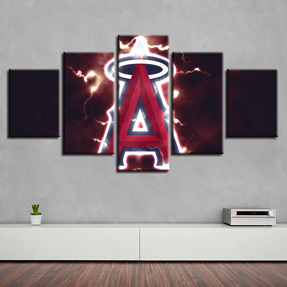 Baseball Home Decor: House Painting Home Decor Cuadros 5 Set Baseball Sport HD