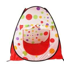 Большой портативный складной для детей всплывающие Приключения Океанский для игр с мячом палатка крытый Открытый Игровой домик детская палатка