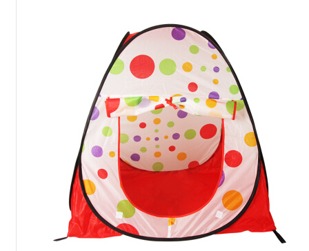 Free Shipping Large Portable Foldable Children Kids Pop Up Adventure Ocean Ball Play Tent Indoor Outdoor Playhouse Kids Tent(China)