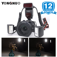 YONGNUO Official YN24EX ETTL Macro Speedlite Dual Flash Heads&Ring Adapters 5600K Flash for Canon camera EOS 5D 70D 1200D 750D
