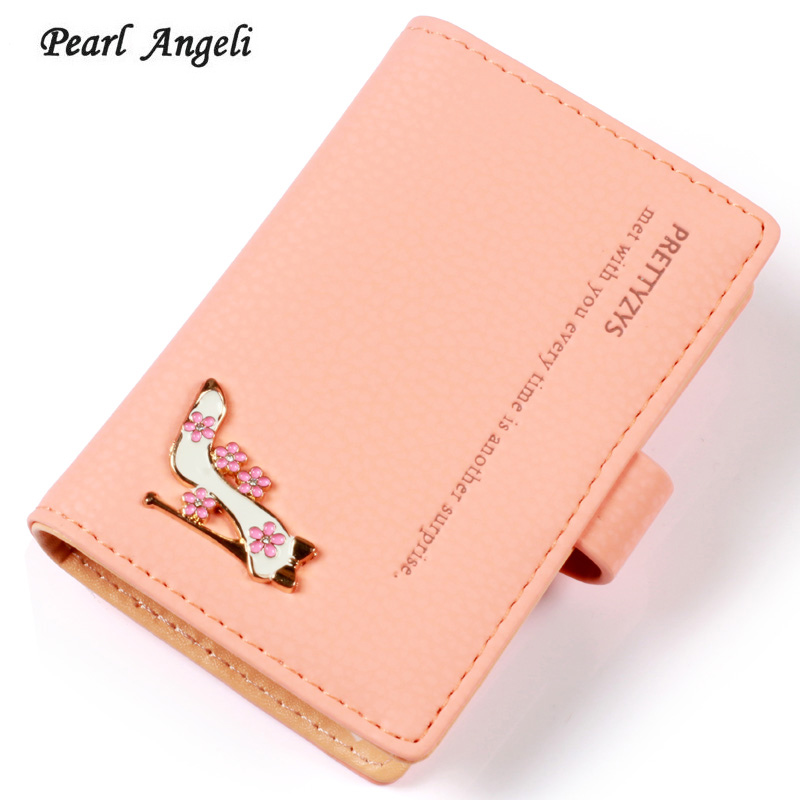 Mini Design 20 Credit Card Holder Slots Women Wallets New Fashion Cards Keeper Case Card Storage Small Clutch Female Purses portable 120 cards pvc matte antimagnetic leather business name id credit card holder keeper organizer book
