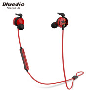 Bluedio AI Sports Bluetooth Headset Wireless Headphone In Ear Earbuds Built In Mic Sweat Proof Good