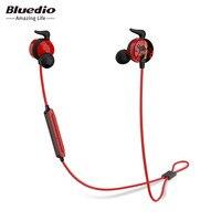 Bluedio AI Sports Bluetooth Headset Wireless Headphone In Ear Earbuds Built In Mic Sweat Proof Good