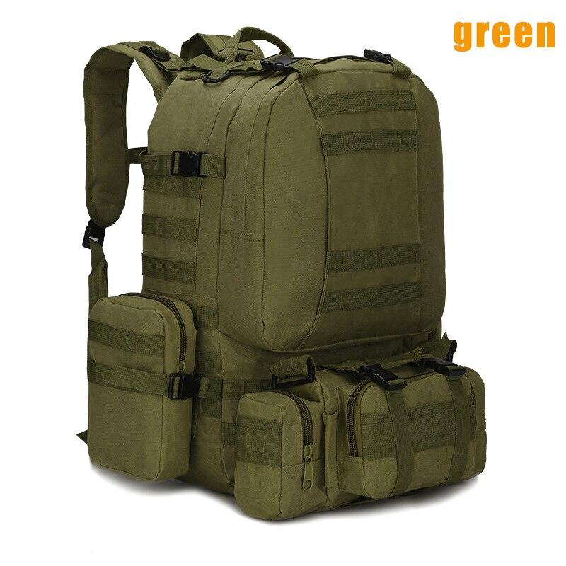 1 pc hommes sac de voyage grande capacité imperméable Camouflage imprimé armée sac à dos pour Camping EDF88
