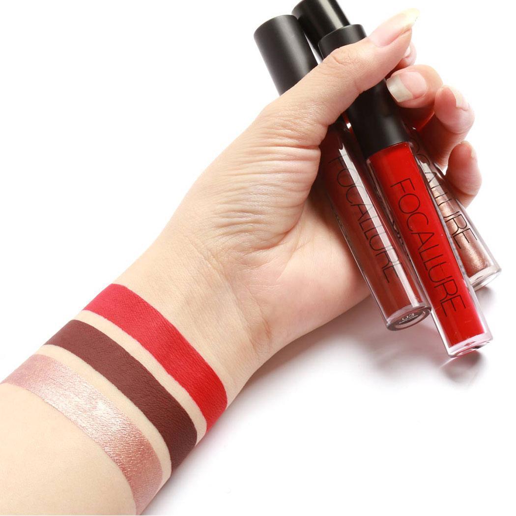 Карандаш Sexy для губ 3 x Colorfast Жидкий Макияж Lasting Lipstick Gloss долго матовая