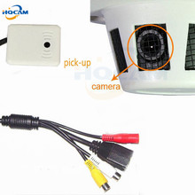 720P 1.0MP Mini Dome IP Camera ONVIF 2.0 Android IOS XMEYE H.264 HD CCTV P2P Camera Audio microphone camera for 3.7mm lens