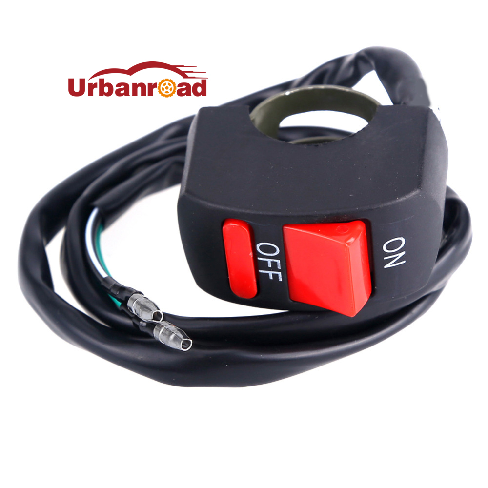 Motorbike Universal Motorcycle Switch Handlebar Switch Button ON-OFF  For 12v U5 Headlight LED Light Spotlight Accessories