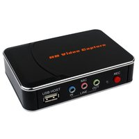 Game Capture HD Video Capture Device HDMI Video Converter/Recorder for PS4 Xbox Support Mic In Full HD 1080P No PC Required