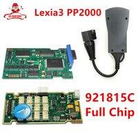 Lexia 3 için v7.83 PP2000 921815C Lexia3 için Tam Çip ile V48 Peugeot için PP2000 V25 Diagbox 7.83 TAM ÇIP Teşhis Aracı