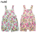 Strap Piece Pants 2017 Baby Girls Floral Rompers Summer Sleeveless Sling Clothing Toddler Girl Lace Jumpsuits FF122