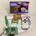 HDMI input LCD controller board+5inch 800*480 AT050TN43 lcd+Remotel control