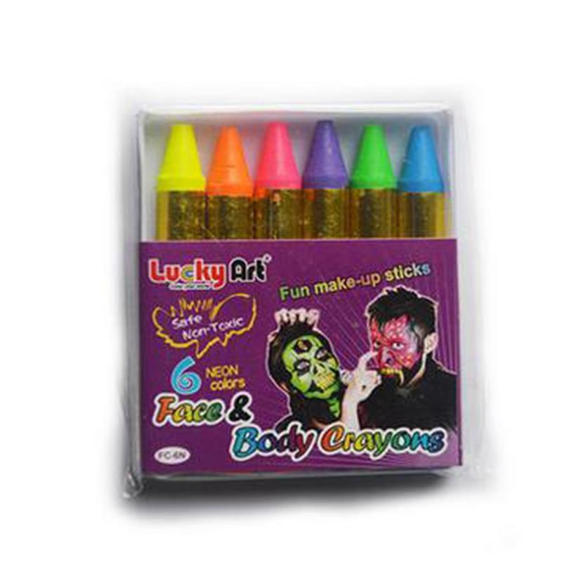 colores estndar perla pigmentos de nen crayones de pintura corporal pintura de la cara pintura