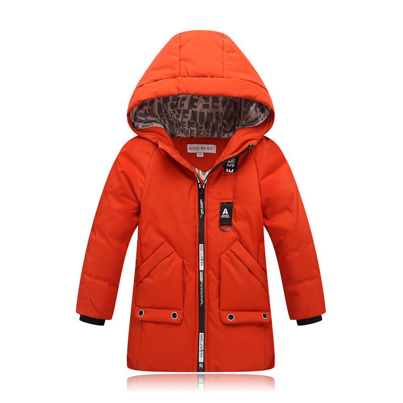 2018 New Boys Outerwear Children Jackets Fashion Kids Warm Winter Hooded Long Coats Teenage Thicken Cotton-padded Zipper Clothes2018 New Boys Outerwear Children Jackets Fashion Kids Warm Winter Hooded Long Coats Teenage Thicken Cotton-padded Zipper Clothes