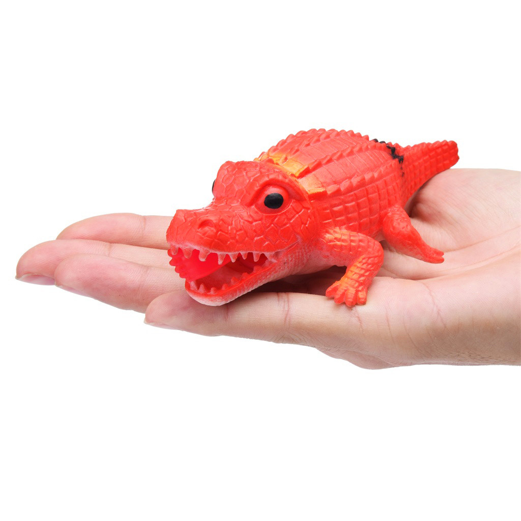 Crocodile Pops Out Leg if Squeeze 14cm Stress Relief Funny Toys 6