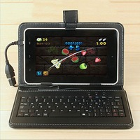 10.1 Inch Imitation Leather Case Cover with USB Keyboard universal for Android Windows Tablets 284*185*13mm
