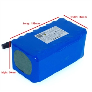 Image 3 - 60V 16S2P 6Ah 18650 Li ion Battery Pack 67.2V 6000mAh Ebike Electric bicycle Scooter with 20A discharge BMS 1000Watt