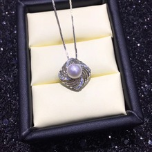 New Arrival Hot Pearl Party Pearl Pendant Mountings, Pendant Findings, Pendant Settings Jewelry Parts Fittings Women Accessories
