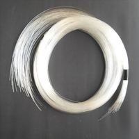 50PCSX 1mm X 2Meters end glow PMMA plastic fiber optical cable decoration light free shipping