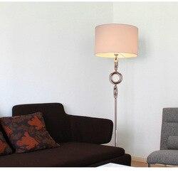Nordic lampa podłogowa salon nowoczesne sypialnia piętro studium światła led pionowa lampa czarny biały lampy biurko oświetlenie ZA992 Lampy podłogowe Lampy i oświetlenie -