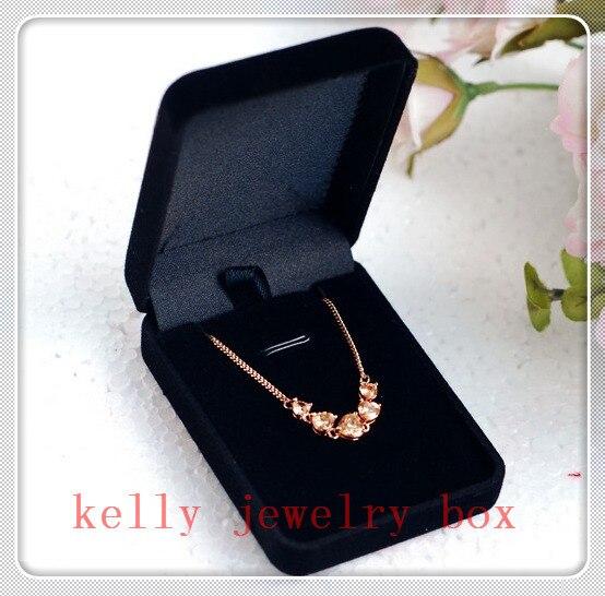 40pcslot Black Velvet Jewelry Box Earrings Pendant Display