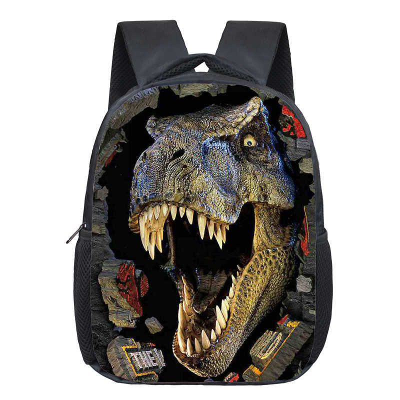 Dinosaur Magic Dragon Backpack For Kids Animals Children Schoolbags Boys Girls School Bags Kindergarten Backpack Book Bag