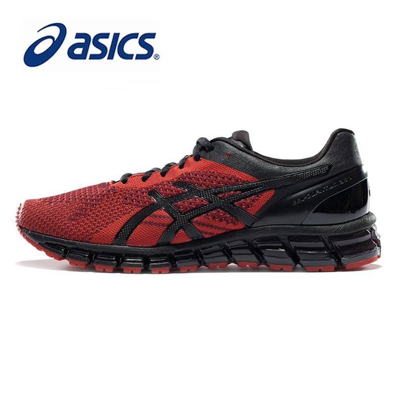 Original ASICS Men Shoes Wear-resisting Cushioning Running Shoes